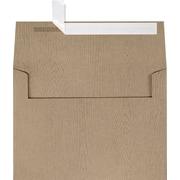 LUX A7 Invitation Envelopes (5 1/4 x 7 1/4) 250/Box, Oak Woodgrain (5380-S01-250)