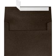 LUX A7 Invitation Envelopes (5 1/4 x 7 1/4) 50/Box, Teak Woodgrain (5380-S03-50)