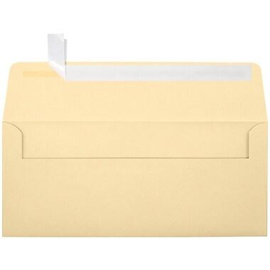 LUX Peel & Press #10 Square Flap Invitation Envelopes (4 1/8 x 9 1/2) 1000/Box, Nude (LUX-4860-071000)