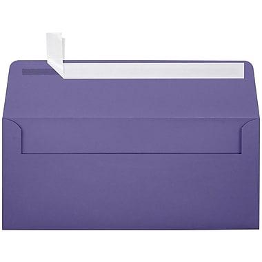 LUX Peel & Press #10 Square Flap Invitation Envelopes (4 1/8 x 9 1/2) 500/Box, Wisteria (LUX-4860-106500)