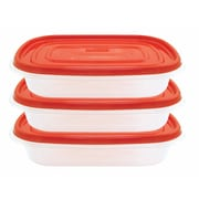 Euro-Ware Frigidaire 32 oz. Rectangle Storage Container (Set of 3)