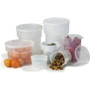 Carlisle Sanitary Maintenance Products 3.5 Quart Container (Set of 12)