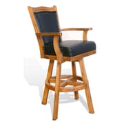 Sunny Designs Sedona 30'' Swivel Bar Stool with Cushion