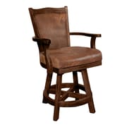 Sunny Designs Santa Fe 24'' Swivel Bar Stool with Cushion