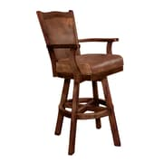 Sunny Designs Santa Fe 30'' Swivel Bar Stool with Cushion