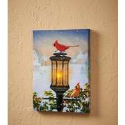 WildWings Evening Glow by Sam Timm Print of Painting on Wrapped Canvas