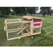 NaptownChickens The Bertha Chicken Coop w/ Nesting Box