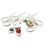 RSVP-INTL Porcelain Soup Spoon (Set of 12)