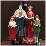 BurtonBurton Decorative Victorian Caroler Family