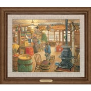 WildWings Christmas Wish by Lee Stroncek Framed Painting Print on Canvas