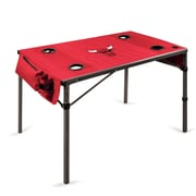 Picnic Time Travel Table; Chicago Bulls/Red