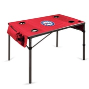 Picnic Time Travel Table; Philadelphia 76ers/Red