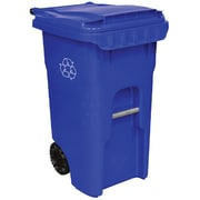 Otto 45-Gal Edge Wheeled Recycling Container