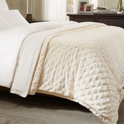 Bombay Victoria Throw; Ivory