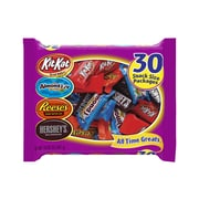 HERSHEY'S Halloween All Time Greats Snack Size Assortment, 30-Piece, 15.92 oz