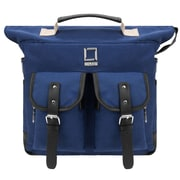 Lencca Mini Phlox Hybrid Backpack and Messenger Bag Blue 11 Inch (LENLEA052)
