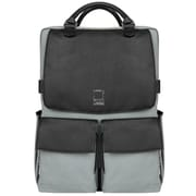 Lencca Novo Gray Laptop Crossover Shoulder Bag 15.6 Inch (LENLEA814)