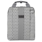 "Vangoddy Melissa Shoulder Bag Fits up to 11"" Notebook White/Gray"