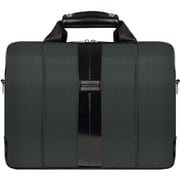 "Vangoddy Melissa Shoulder Bag Fits up to 15"" Notebook Gray/Black"