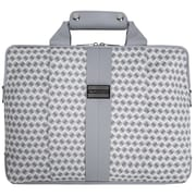 "Vangoddy Melissa Shoulder Bag Fits up to 15"" Notebook White/Gray"