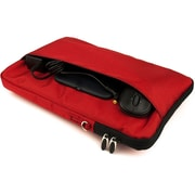 Vangoddy Hydei Large Nylon Protector Case with Shoulder Strap Red