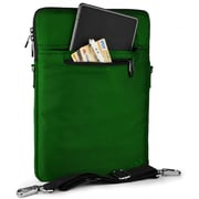 Vangoddy Hydei Large Nylon Protector Case with Shoulder Strap Green