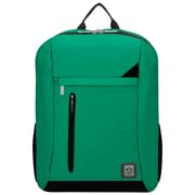 "Vangoddy Adler Laptop Backpack Fits up to 15.6"" Laptop Jade Green with Black Trim"