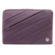 "Vangoddy Jam Nylon Laptop Protector Sleeve 15.6"" Purple"