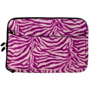 "Vangoddy Laptop Protector Sleeve Fits up to 13"" Laptop (Magenta Zebra Print)"