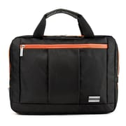 Vangoddy El Prado (Large) Laptop Messenger/Backpack (Black/Orange)