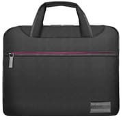 "Vangoddy NineO Laptop Messenger Bag 15"" (Grey/Pink)"
