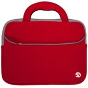 "Vangoddy 10"" Lightweight Laptop Carrying Case w/ Handle (Red)"