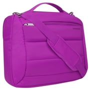 "Vangoddy Bonni 2 in 1, 15.6"" Laptop Protector Shoulder Bag Backpack (Purple)"