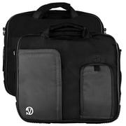 Vangoddy Pindar Laptop Sleeve Messenger Shoulder Bag - Small (Black)