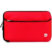 "Vangoddy Neoprene Laptop Carrying Sleeve Fits up to 13"" Laptops (Red/Black)"