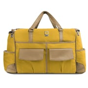 Lencca Alpaque Duffle Bag and Laptop Holder (Mustarf Yellow/Cool Camel)
