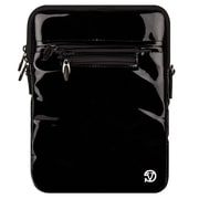 "Vangoddy Hydei 10"" Protector Case with Shoulder Strap (Black Patent Leather)"