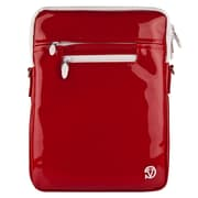 "Vangoddy Hydei 10"" Protector Case with Shoulder Strap (Red Patent Leather)"