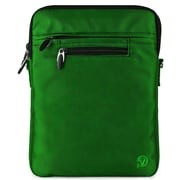 "Vangoddy Hydei 10"" Protector Case with Shoulder Strap (Black/Green)"