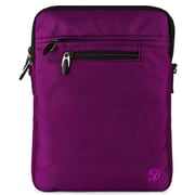 "Vangoddy Hydei 10"" Protector Case with Shoulder Strap (White/Purple)"