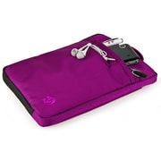 "Vangoddy Hydei 8"" Protector Case with Handle (Black/Purple)"