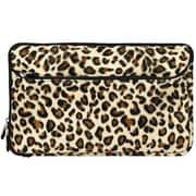 "Vangoddy 10.1"" Soft Cover Protector Sleeve (Brown Leopard Fur)"