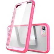 SUPCASE Apple iPhone 7 Unicorn Beetle Style Series Hybrid Clear Case,Pink