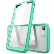 SUPCASE Apple iPhone 7 Unicorn Beetle Series Hybrid Case,Clear/Green/Green