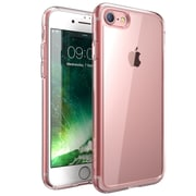 i-Blason Apple iPhone 7 Halo Series Scratch Resistant Clear Case,Clear/Rosegold
