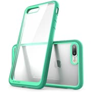 SUPCASE Apple iPhone 7 Plus Unicorn Beetle Series Hybrid Case,Clear/Green/Green