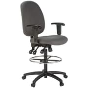 Harwick Mid-Back Drafting Chair; Gray
