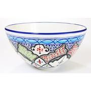Le Souk Ceramique Tibarine Stoneware Salad Bowl