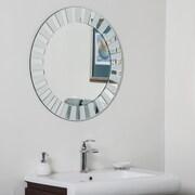 Decor Wonderland Bathroom Wall Mirror; White