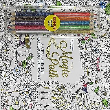 Colorama Magic Path Adult Colouring Book